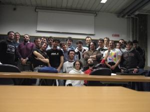 La squadra dell'iCTF 2008
