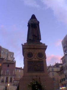 Campo dei fiori - Giordano Bruno
