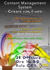 CMS - Creare con il Web