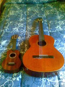 Uke vs. guitar