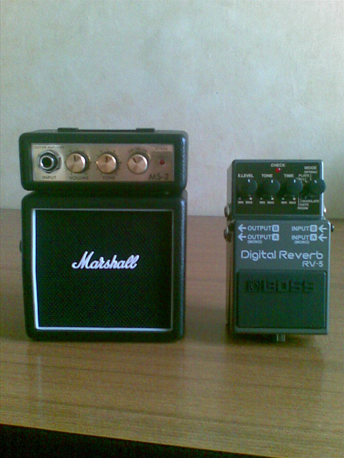 Marshall Micro & Boss RV-5