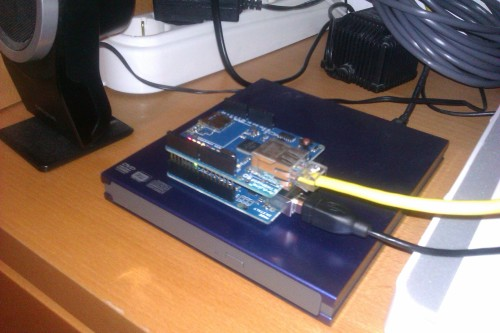 Arduino + Ethernet Shield