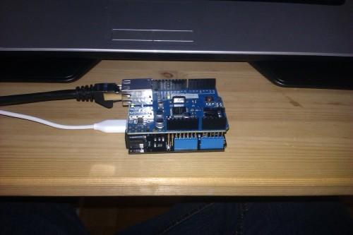 Netduino + Ethernet shield